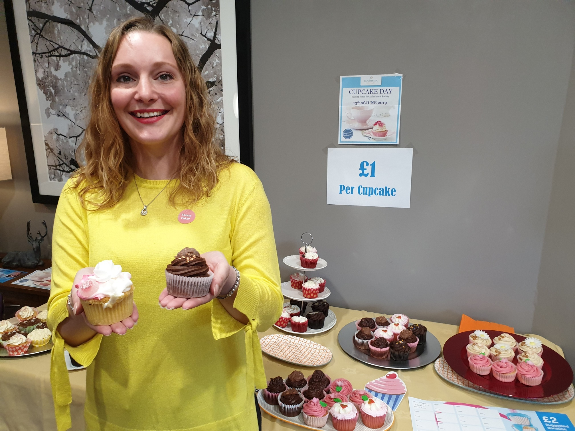 Welshpool care home's charity cupcakes for Alzheimer's
