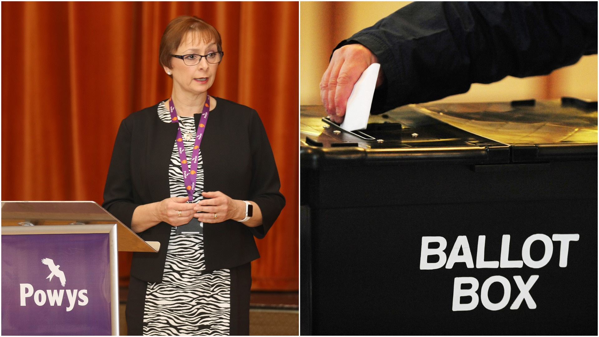 Powys County Council in Purdah due to Brecon and Radnorshire by-election