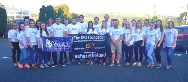 Radnor YFC members gearing up for the '3 Federations, 3 Peaks' Challenge on Saturday, July 13.