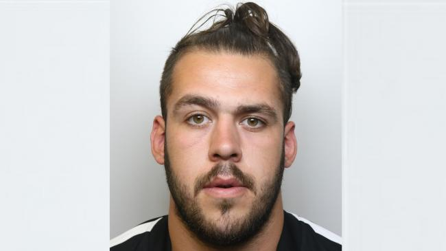 Sam Williams from Welshpool jailed for seven a half years. Picture: Dyfed Powys Police.