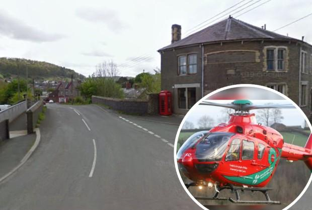 Woman suffers 'life threatening' injuries following Knighton crash
