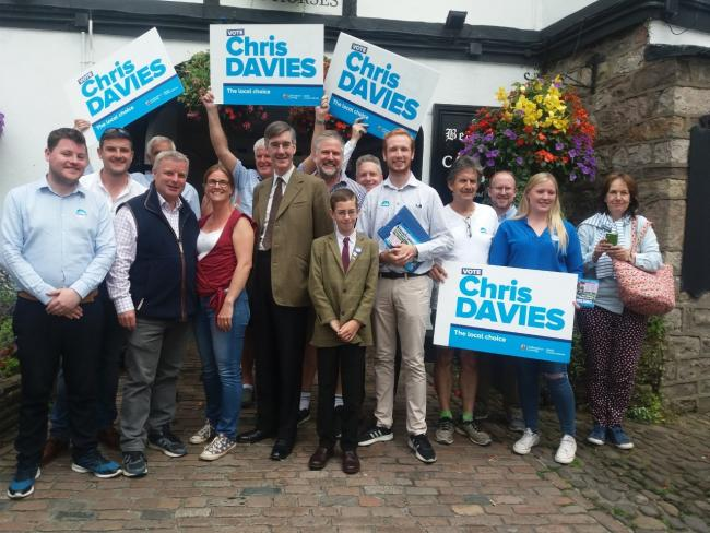 Jacob Rees-Mogg visits Crickhowell | County Times