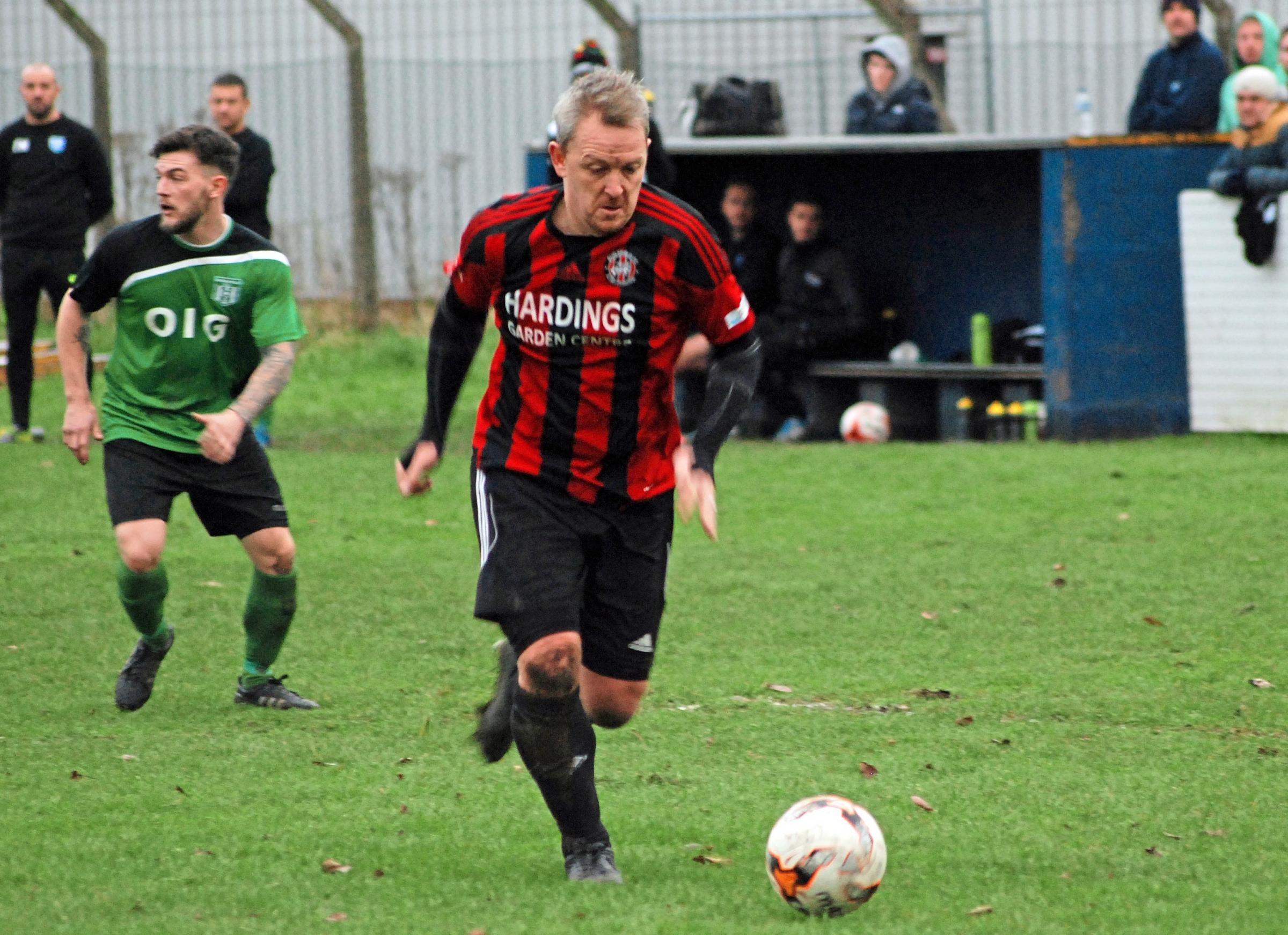 Danny Barton of Guilsfield Reserves. Picture by Darren Hyland.