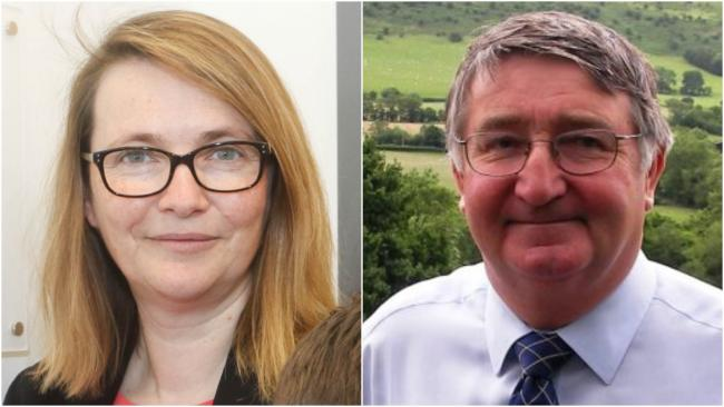 Kirsty Williams AM and former MP Cllr Roger Williams