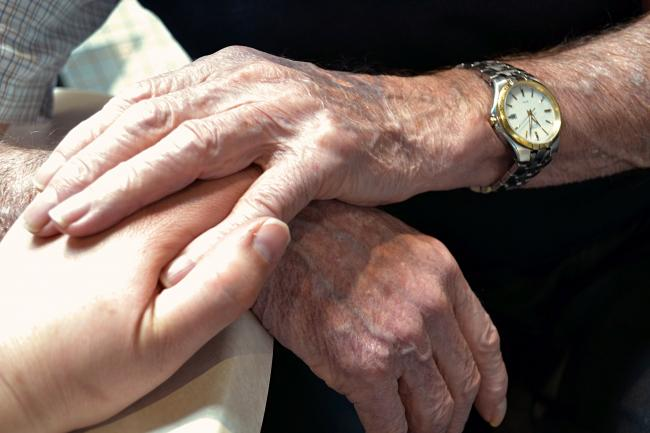 Supporting a terminally ill relative. Picture: Getty Images