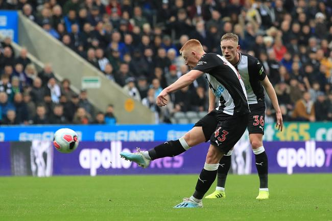 Newcastle midfielder Matty Longstaff seems likely to keep his place at Chelsea