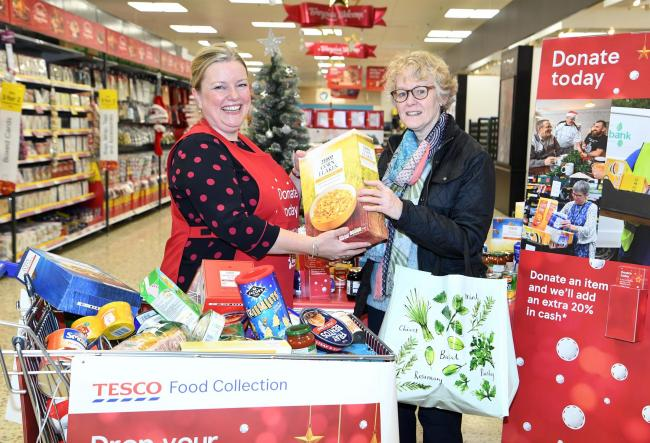 Volunteers are wanted to help with food collection for the Trussell Trust and FareShare.