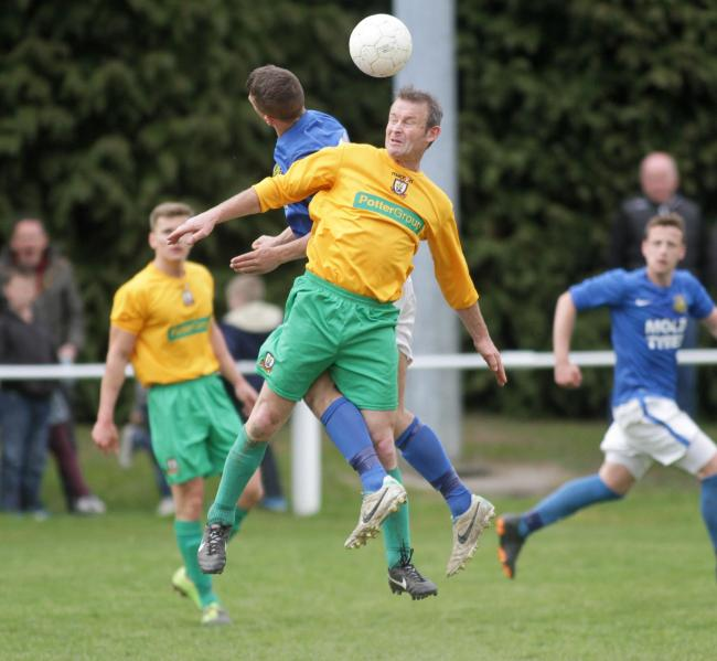 Colin Reynolds was on target for Llanidloes Town Reserves.