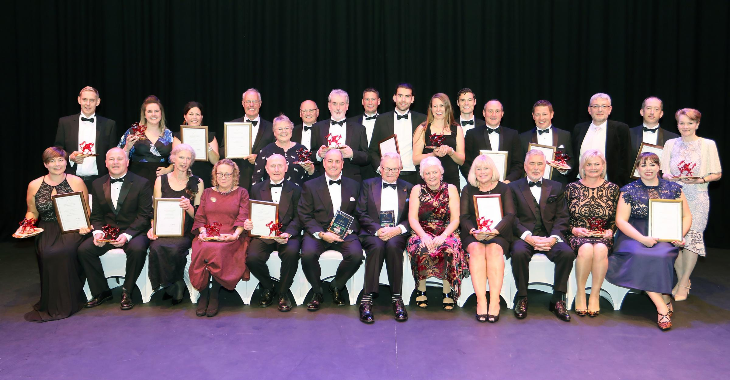 Stars of Mid Wales tourism industry shine brightly at inaugural awards