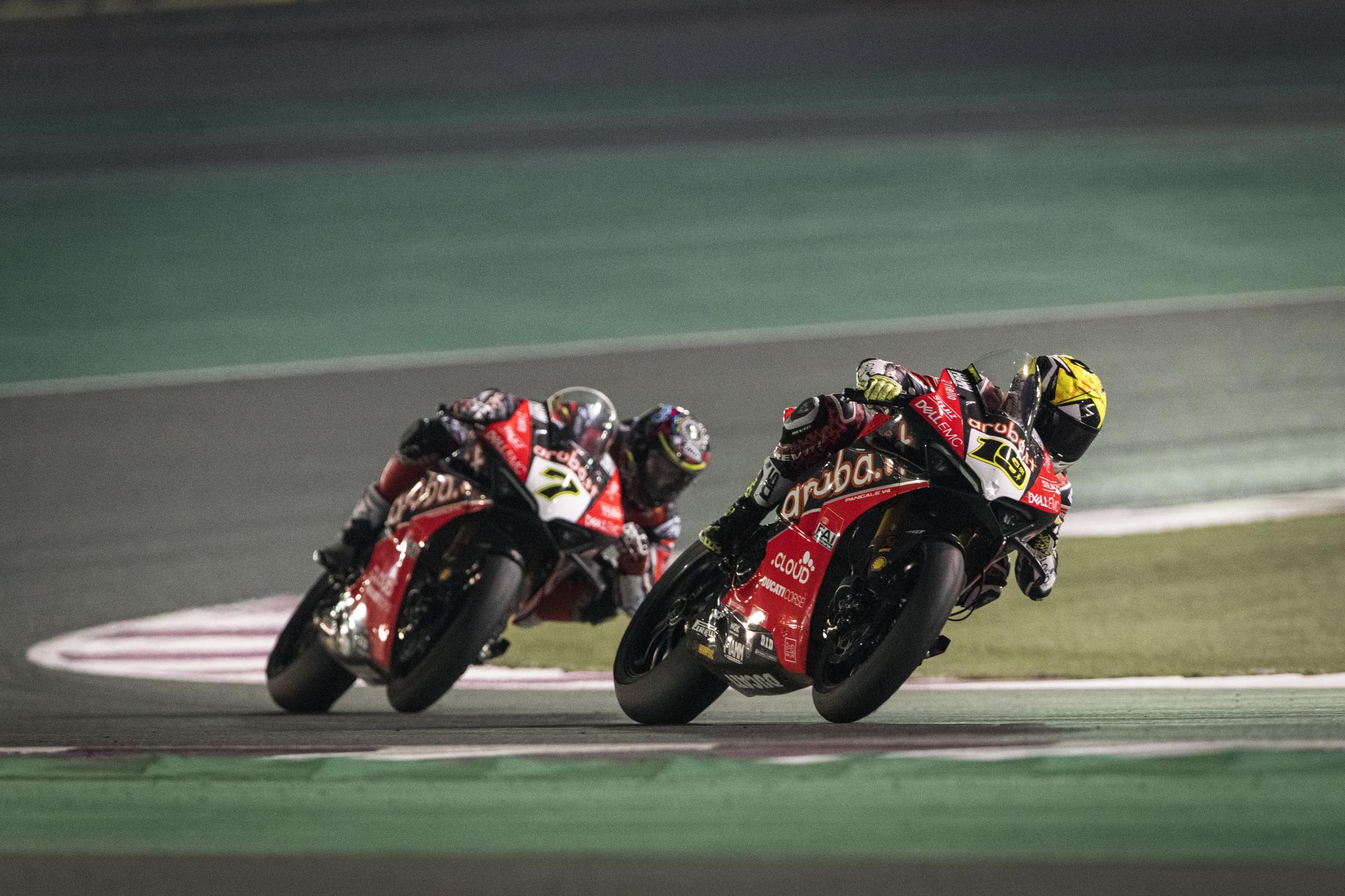 Presteigne star Davies ends Superbike campaign on a high in Qatar