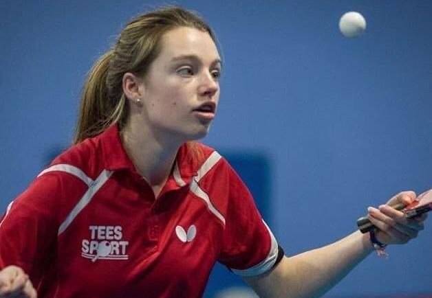 Grace Williams of Llanfyllin marked her international table tennis debut in Holland with a bronze medal.
