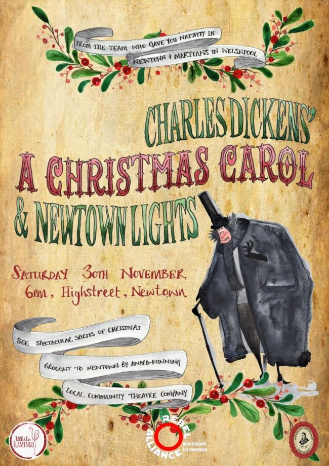 'A Christmas Carol' is being performed in Newtown.