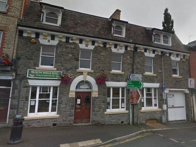 Builth Wells Rugby Club is reopening from Friday. Image: Google Maps