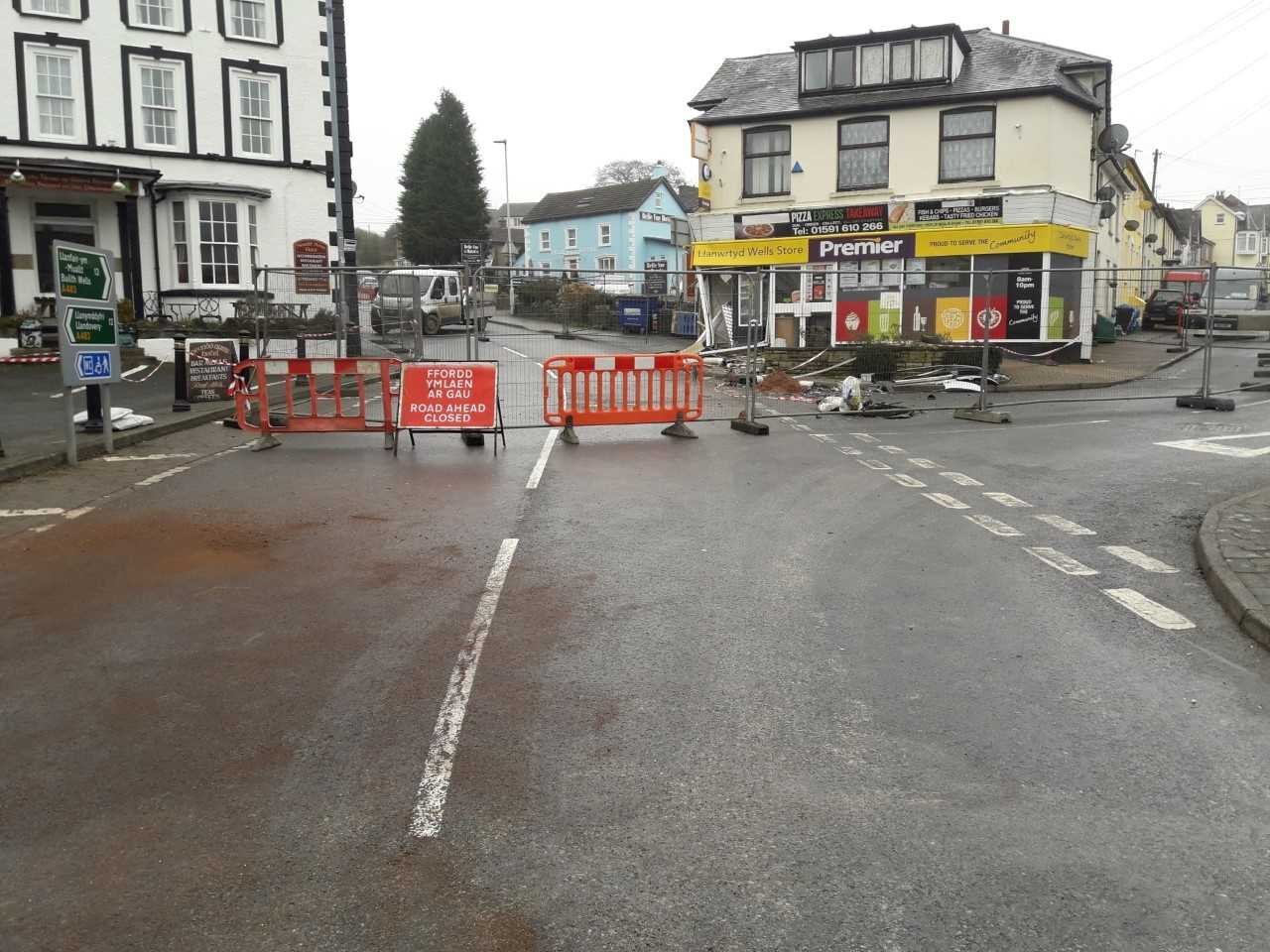 Traffic lights have left Llanwrtyd Wells residents seeing red