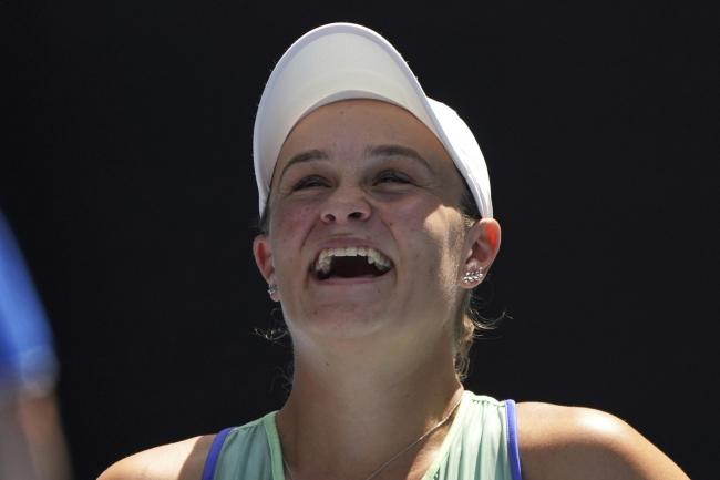 Ashleigh Barty was delighted to reach the semi-finals in Melbourne