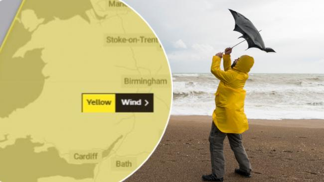 Storm Dennis is on its way, says the Met Office. (Image: Met Office/Getty)