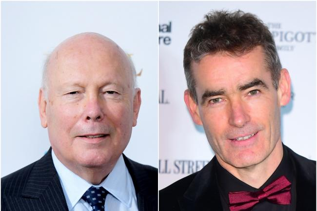 Julian Fellowes and Rufus Norris (Ian West/PA)