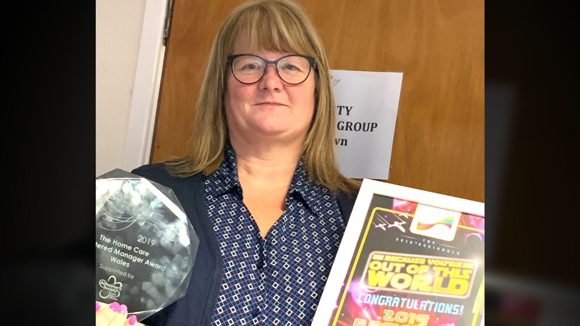Care provider up for major award
