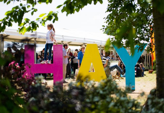 The shutdown left Hay Festival under threat