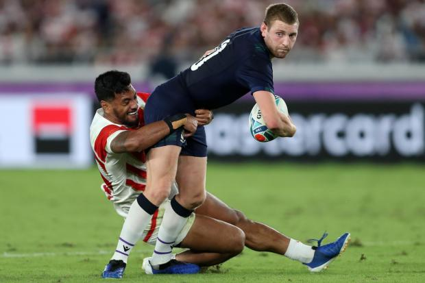 Finn Russell missed the Six Nations