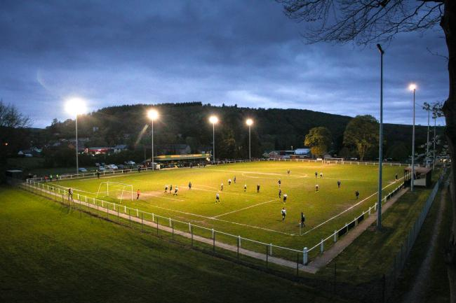 Victoria Avenue, home of Llanidloes Town Football Club. Picture by Mike Sheridan.