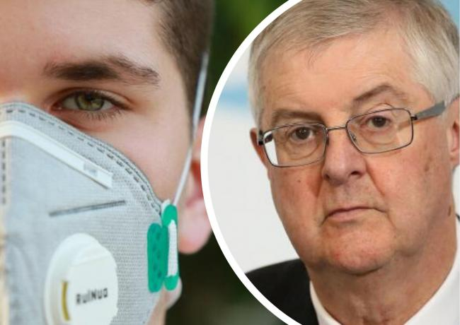 Face masks 'not a magic bullet' in preventing spread of coronavirus, says First Minister