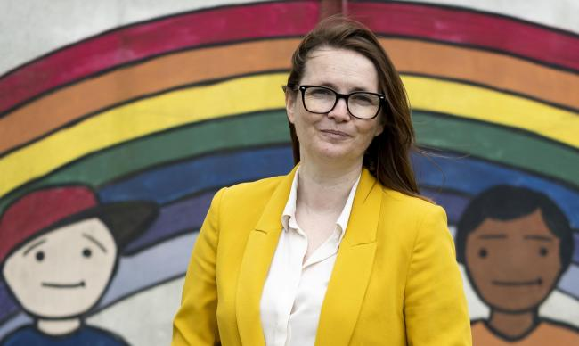 Education Minister Kirsty Williams.