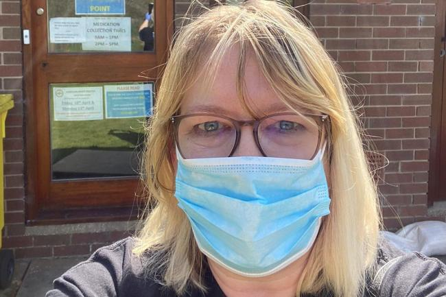 Cancer patient slams 'selfish and individualistic' anti-face covering protesters