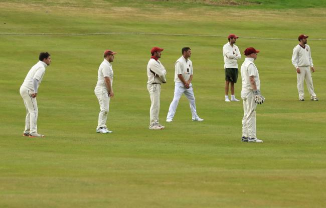 Newtown Cricket Club inter match friendly action. Picture by Dave Evans.