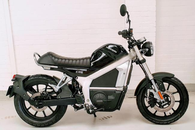 An electric bike for sale by the Newtown company
