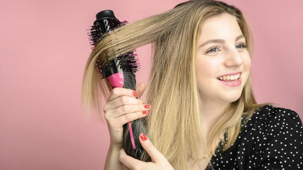County Times: This Revlon hair dryer brush is better than any hair dryer I've ever used. Credit: Reviewed / Betsey Goldwasser