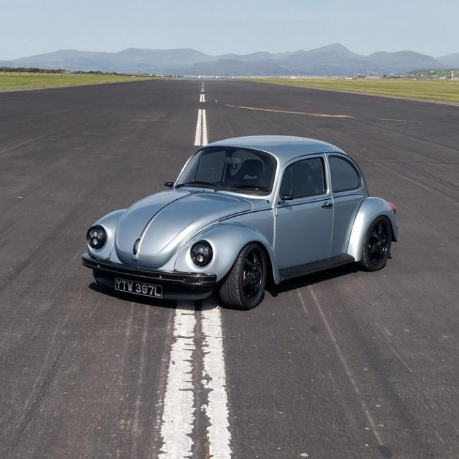 The Tesla-powered Beetle Richard used.