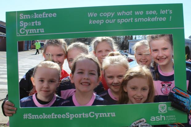 Wales is the first country in the UK to ban smoking during junior football matches.