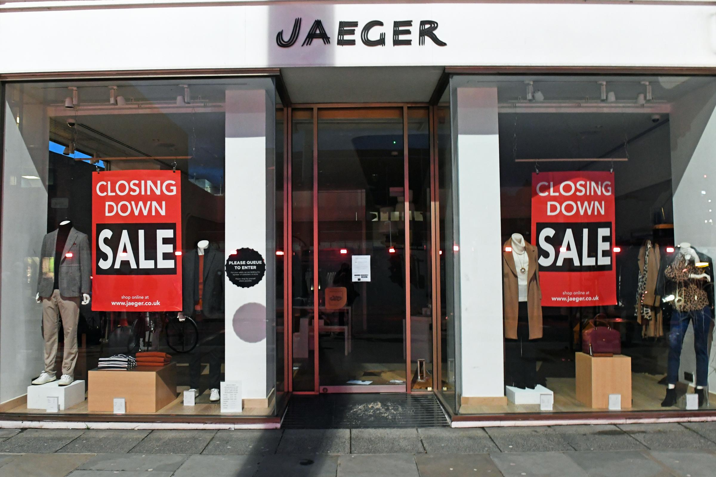Jaeger To Axe 103 Jobs And Shut 13 Shops County Times