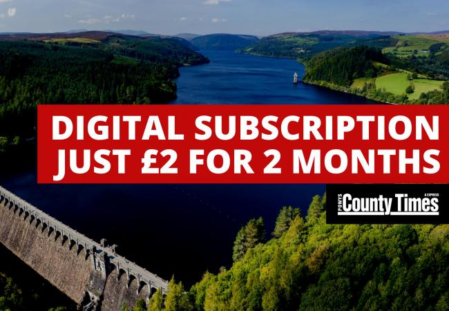 Don't miss out on County Times' £2 for 2 months digital subscription offer