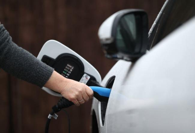 Powys is leading the way on the roll-out of charging points for electric vehicles. Pic: PA