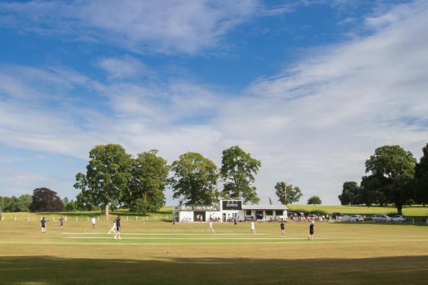 A general view of Lymore during the inaugural James Corfield Cup between Welshpool and Newtown Schools held at Lymore on Tuesday, July 11, 2018...Pic: Mike Sheridan/County Times.MS161-2018.
