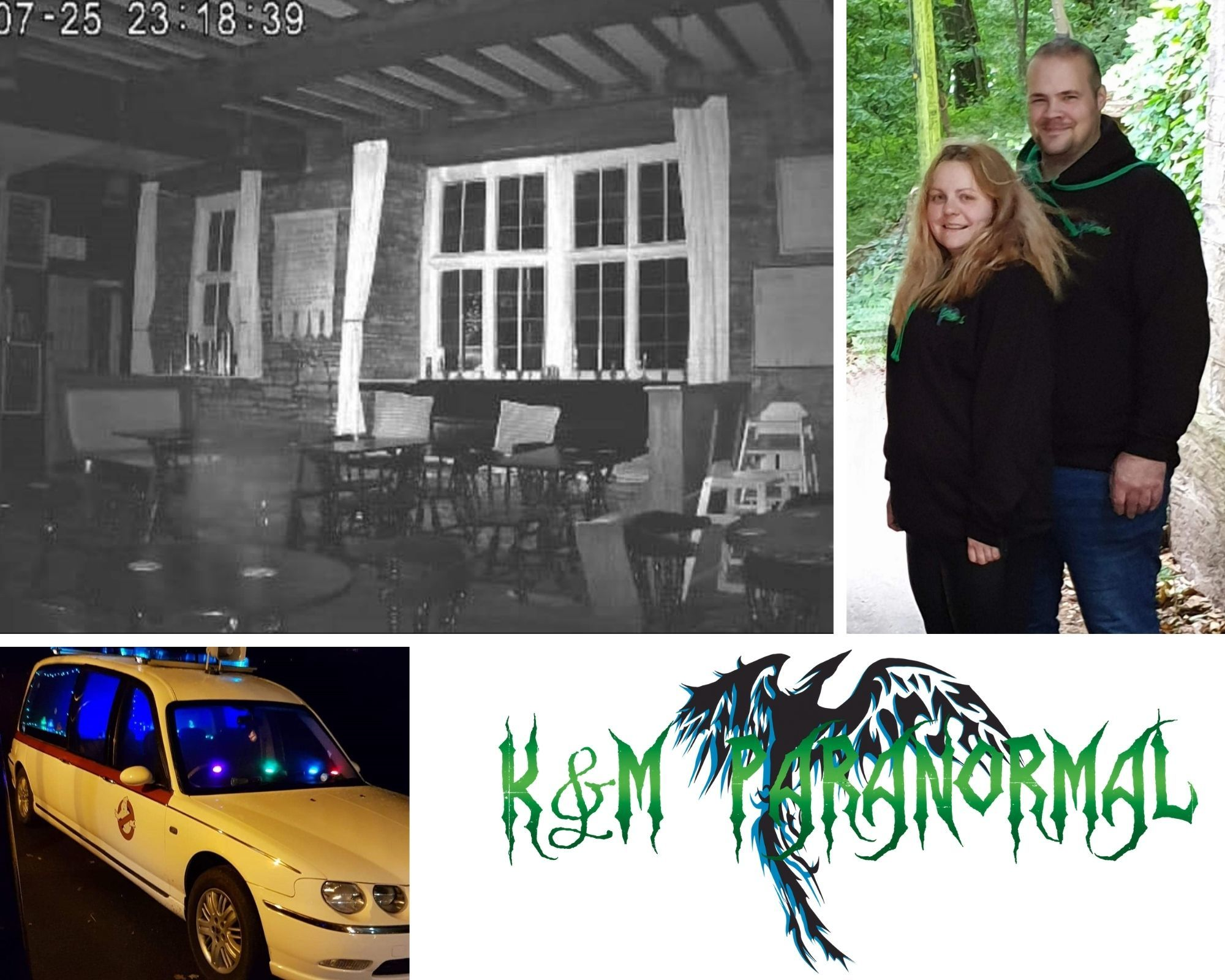 Meet the Powys couple who are real life ghostbusters