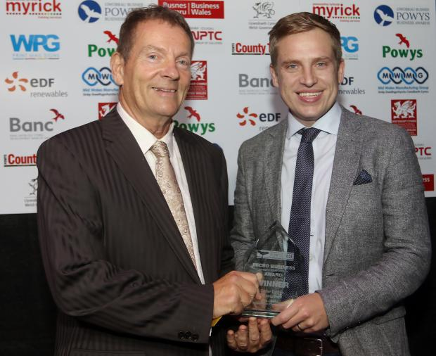 County Times: Powys Business Awards 2021. Micro Business (Under 10 Employees) Award winners Cellar Drinks Company. Picture by Phil Blagg Photography. PB064-2021-36