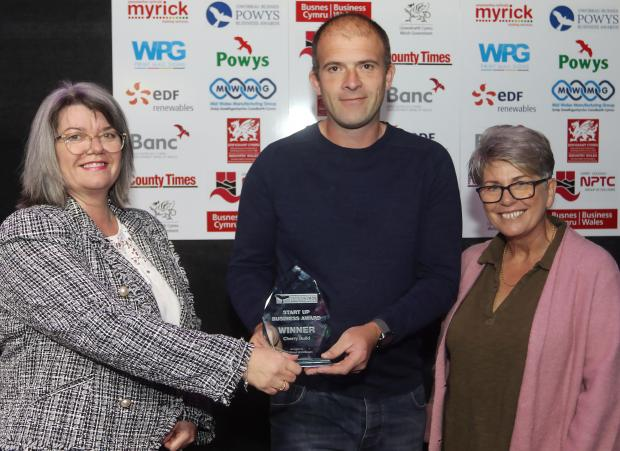 County Times: Powys Business Awards 2021. Start Up Business Award won by Cherry Build. Picture by Phil Blagg Photography. PB064-2021-32