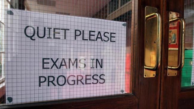 Students are picking up the results from their GCSE exams today, Thursday