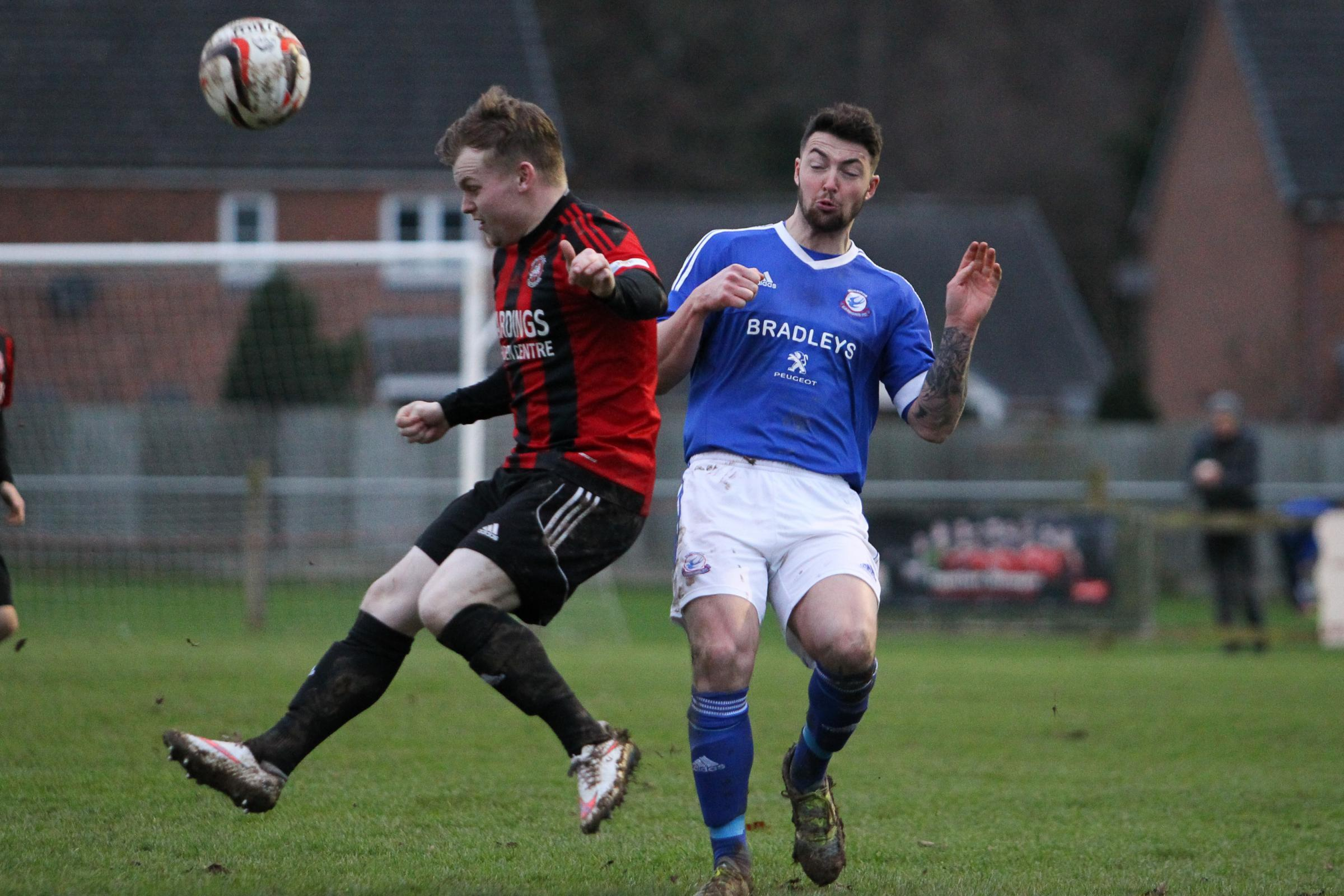 Guilsfield's Louis Irvine ha signed for J D Welsh Premier strugglers Prestatyn Town. Mike Sheridan/County Times. MS853-2017