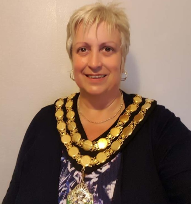 Cllr Joy Jones - the last Chair of the Montgomeryshire committee.