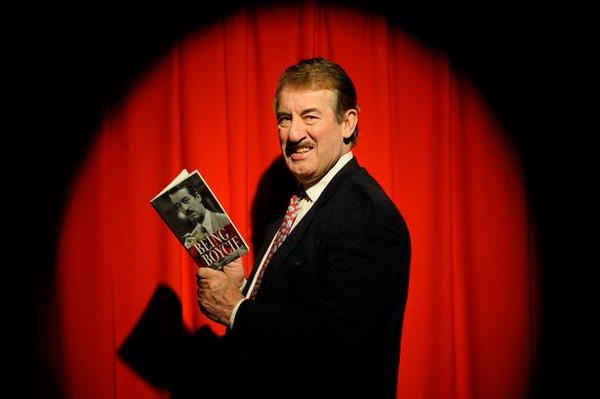 Actor John Challis, who lives in Herefordshire.