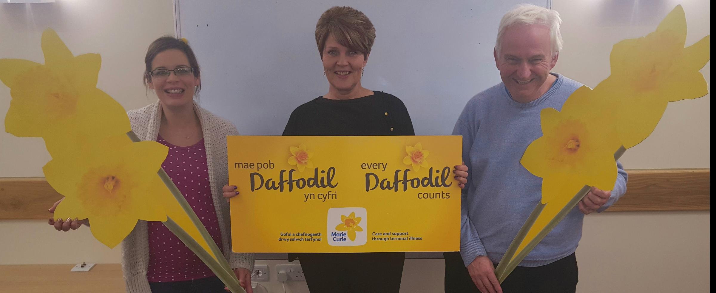 Marie Curie fundriaisers, Sian Danford, Kaye derwas and Alan Crowe - need your help!