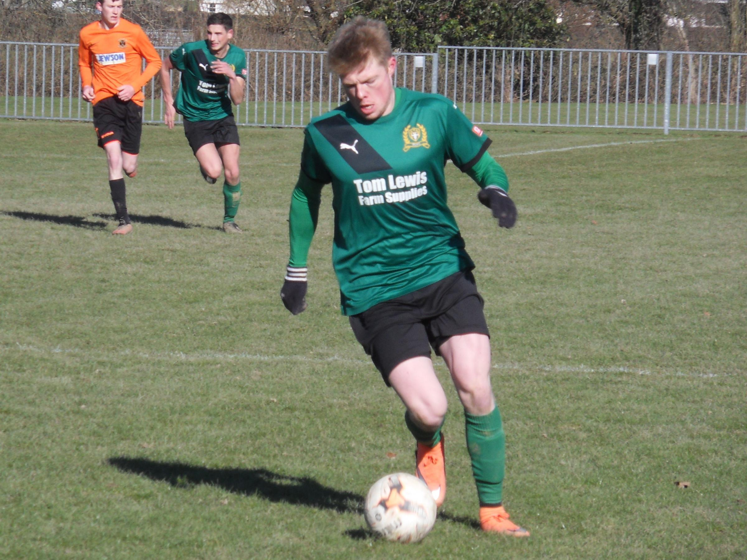 Joey Price in action for Radnor Valley against Builth Wells. Picture by Stuart Townsend.