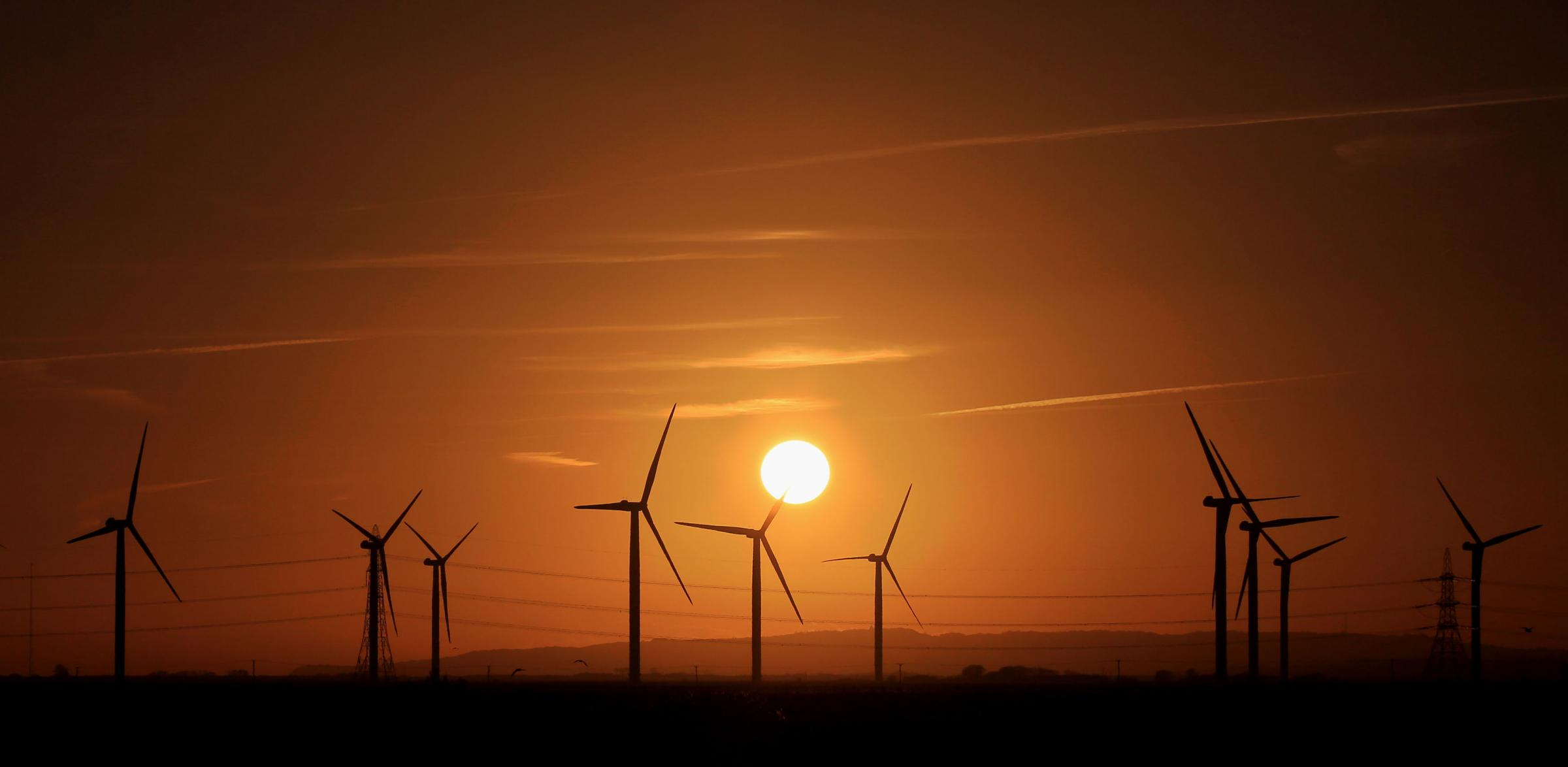 Within the United Kingdom, wind power is the largest source of renewable electricity. Garath Fuller/PA Wire