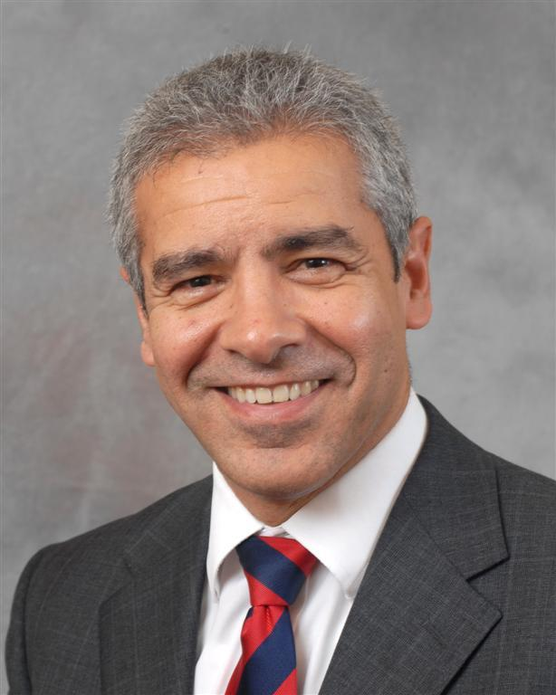 Powys County Council's acting chief executive, Dr Mohanmmed Mehmet.