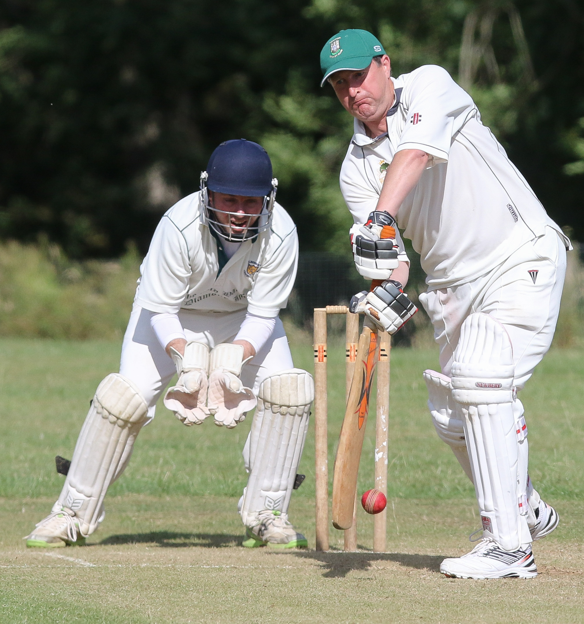 PB274-2017-24.Alberbury v Welshpool Cricket.pictured is Russell Cadwallader.Picture by Phil Blagg.PB274-2017-24.