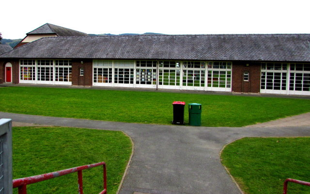 Among the projects are a new building for Machynlleth's Ysgol Bro Hyddgen.